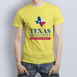 Men's T-shirt Yellow