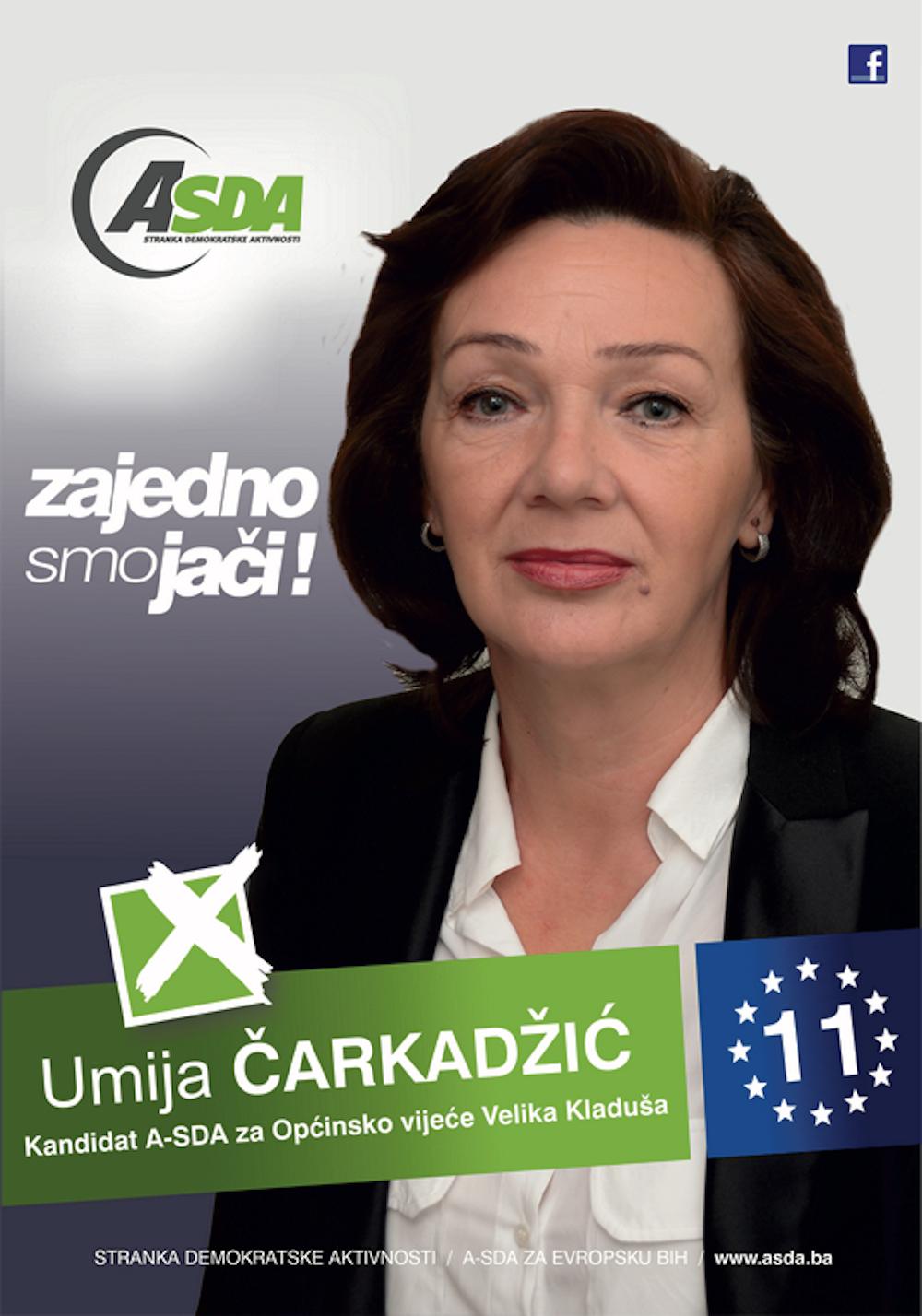 """Rođena 29.4.1965.godine Sekretar Zaposlena u JU""""Prva osnovna škola"""" Velika Kladuša Majka 2 djece"""