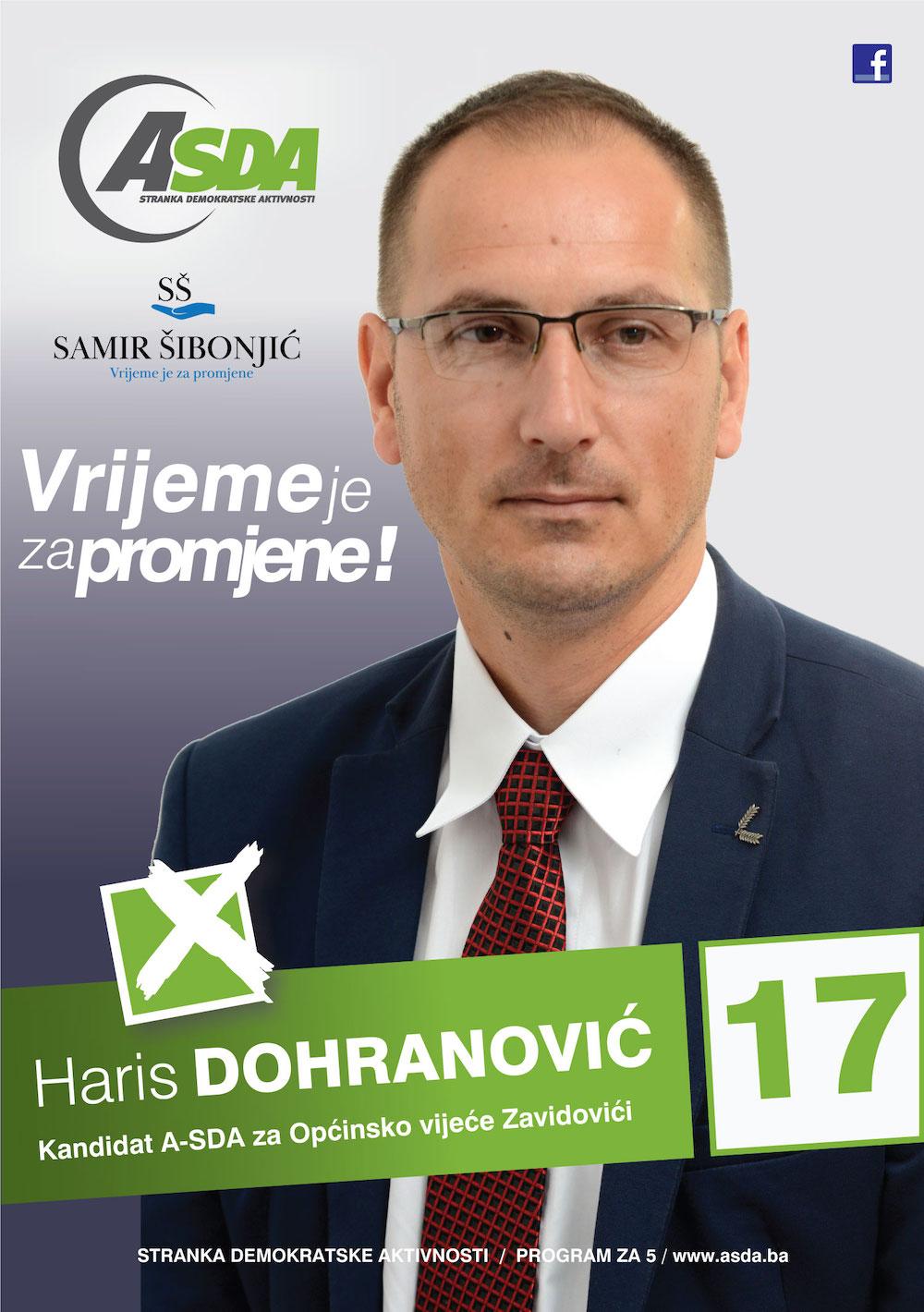 Haris Dohranović