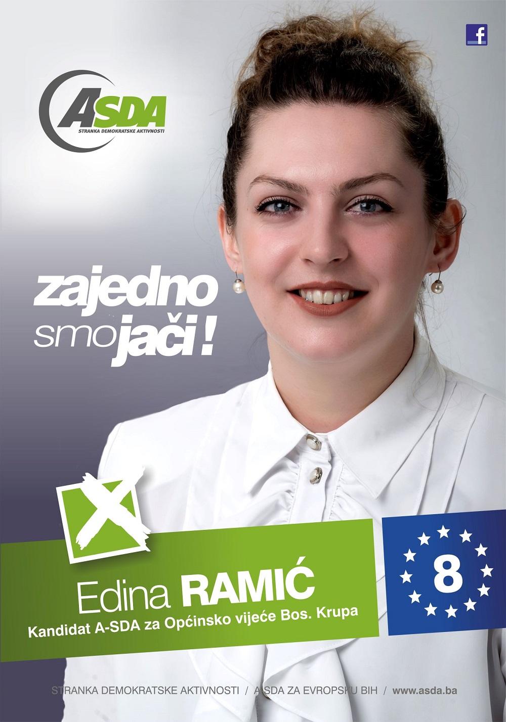 Edina Ramić je rođena 27. decembra 1996. godine u Bosanskoj Krupi gdje je završila osnovnu i srednju školu te stekla zvanje mašinskog tehničara za kompjutorsko projektovanje. Trenutno je zaposlena u […]