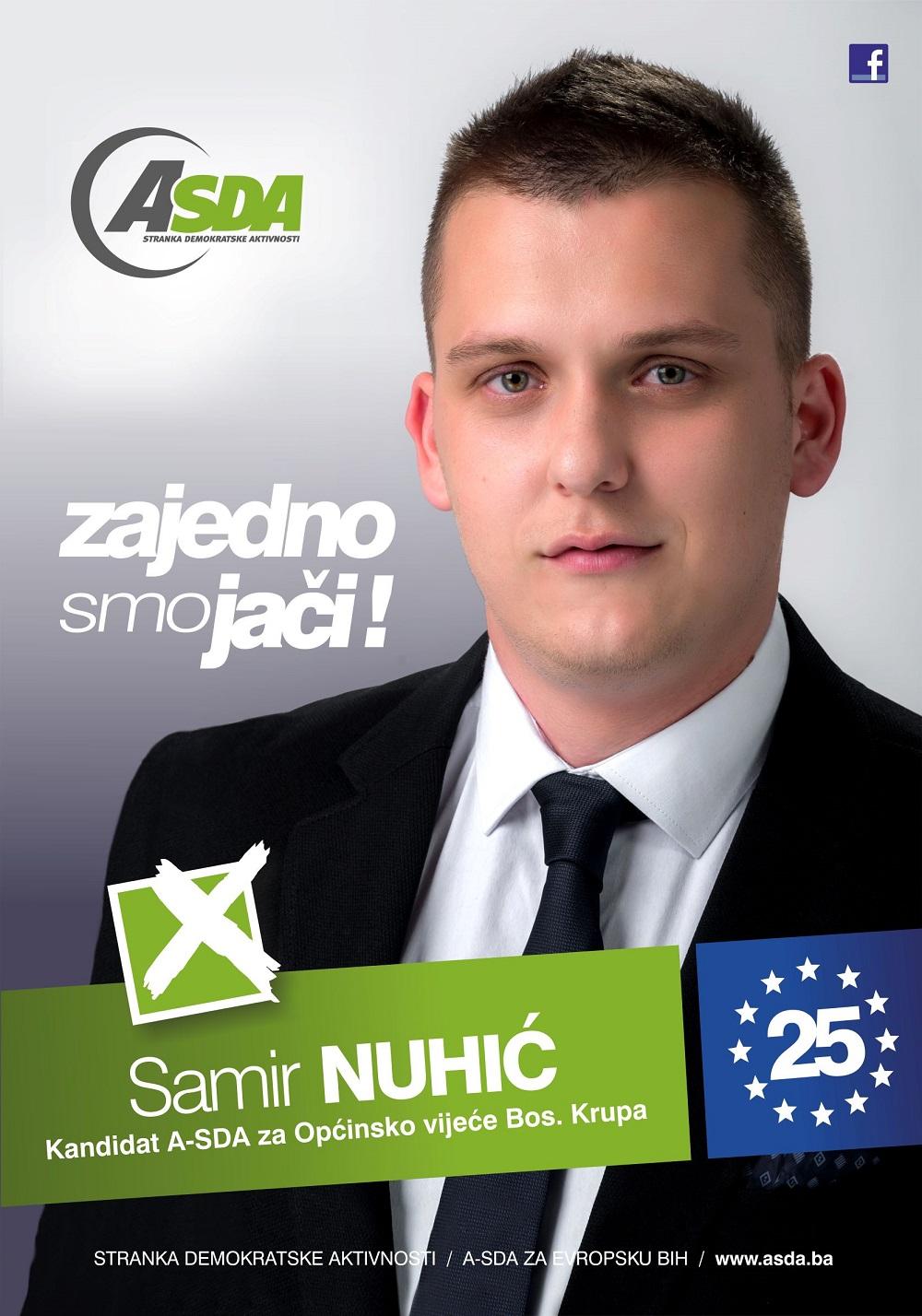 Samir Nuhić je rođen 24. januara 1995. godine u Pištalinama, općina Bosanska Krupa. Osnovnu školu je završio u Bosanskoj Krupi, a srednju mašinsko-saobraćajnu u Bihaću, nakon čega upisuje Visoku međunarodnu […]
