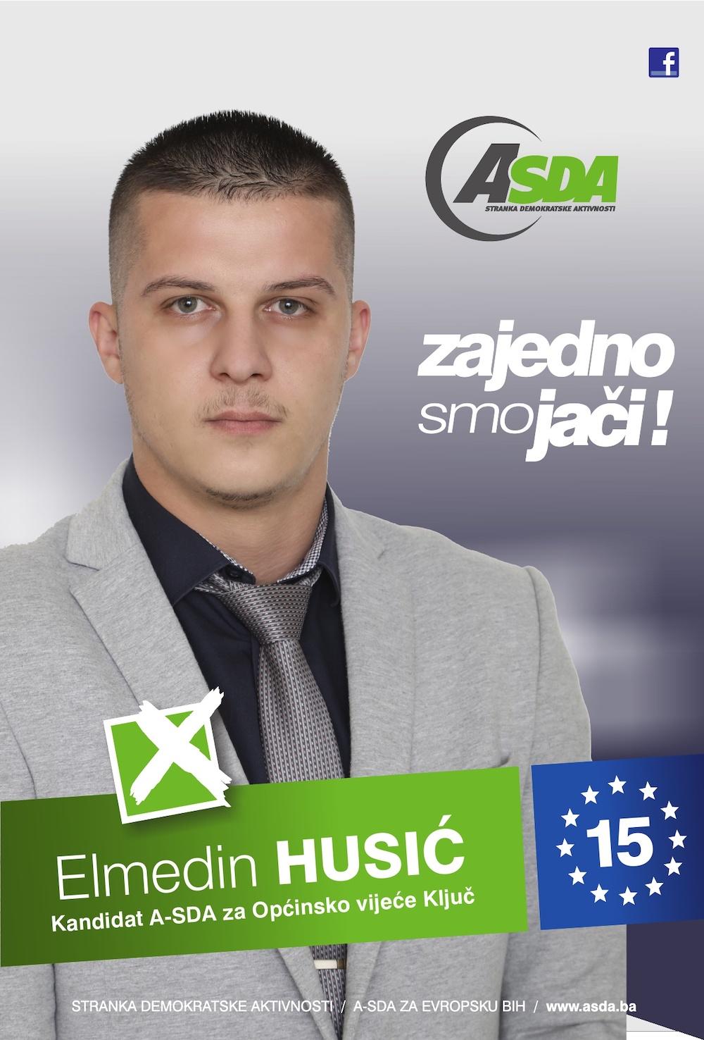 Rođen 09.08.1995. godine u Zenici. Po zanimanju je elekrotehničar energetike Trenutno zaposlen u firmi KRIS d.o.o. Ključ.