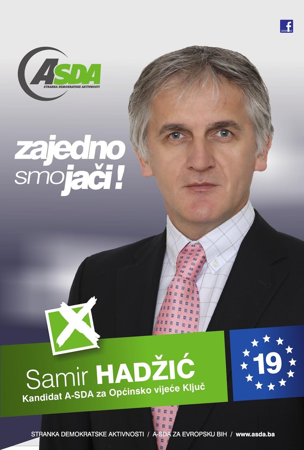 Rođen 15.05.1970. godine u Ključu. Po zanimanju je diplomirani ekonomista. Radno iskustvo sticao kao dugogodišnji privatni poduzetnik. Bio je pripadnik Armije Republike Bosne i Hercegovine od 1992. do 1995. godine. […]