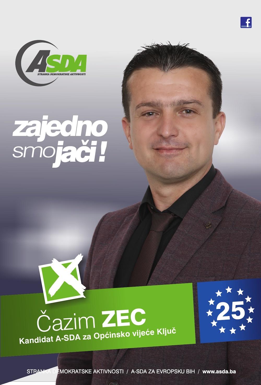 """Rođen 01.09.1981. godine u Travniku. Po zanimanju je nastavnik biologije i hemije. Zaposlen je u JU OŠ """"Velagići"""" na poziciji direktora. Oženjen, otac dvoje djece."""