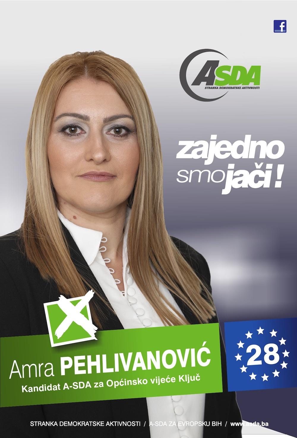 Rođena 12.04.1986. godine u Banja Luci. Po zanimanju je trgovac. Udana, majka dvoje djece. Nezaposlena.