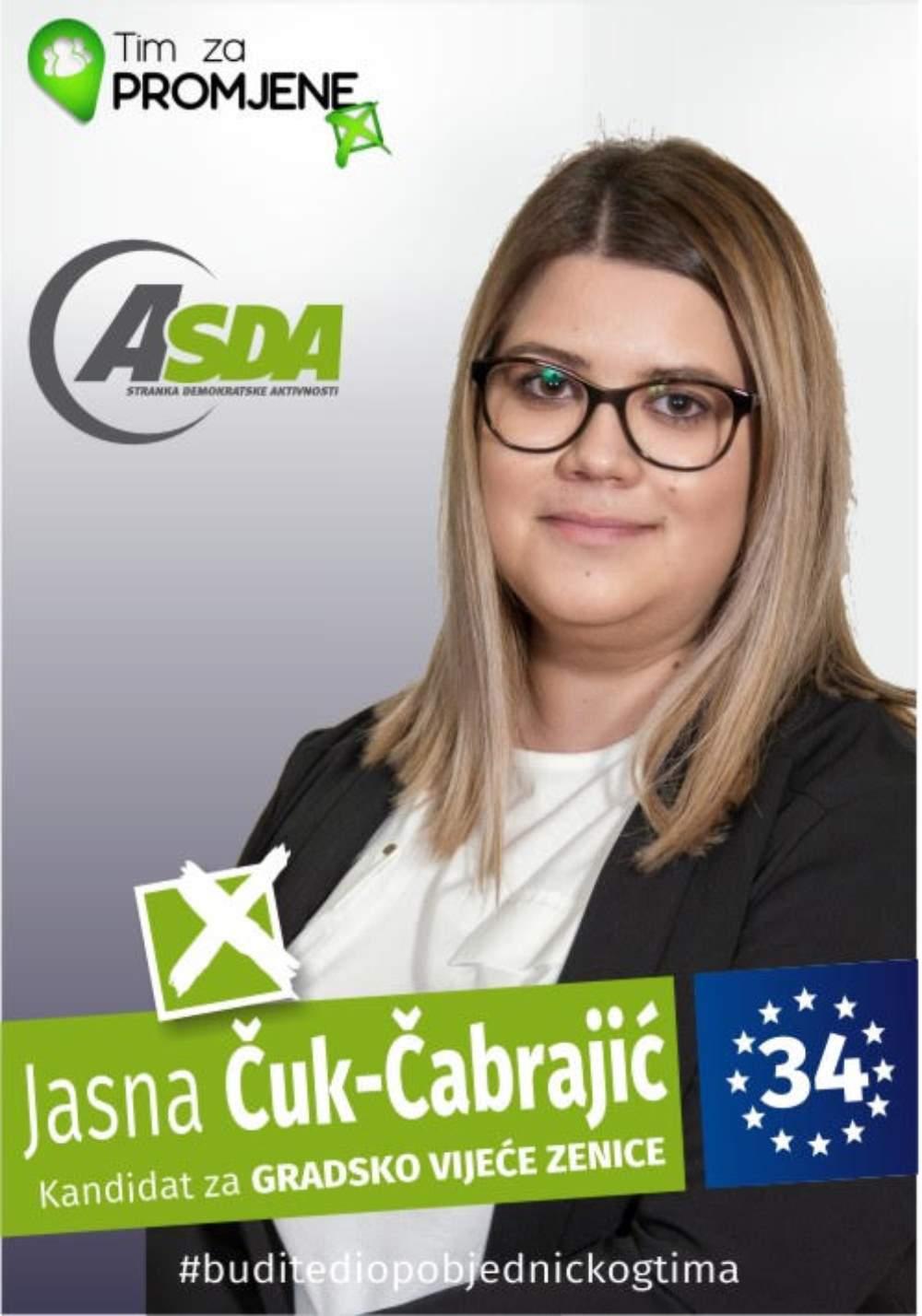 Jasna Čuk - Čabrajić
